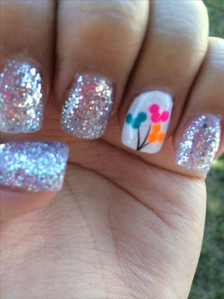 My gel Disney nails
