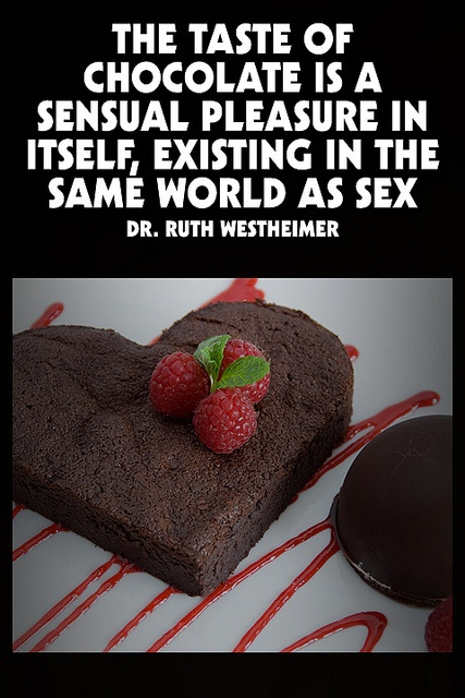 Sex with fruit or choclates