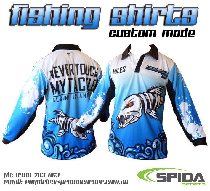 Custom fishing shirts for your team or anglers club! http://promocorner.com.au/sublimated-fishing-shirts/