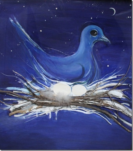 """The Dove and the Moon"" in 1983 by Brett Whiteley"