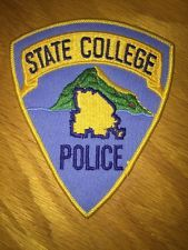State College, Pennsylvania Police Shoulder Patch