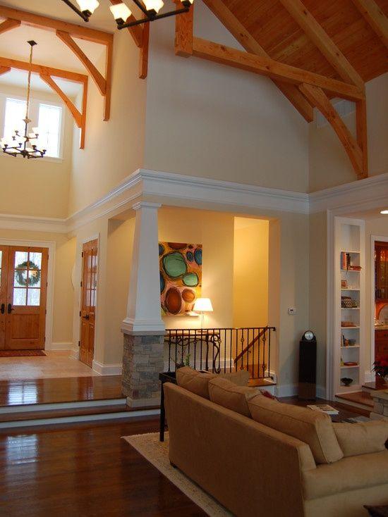 White And Oak Trim Design Ideas Pictures Remodel Decor