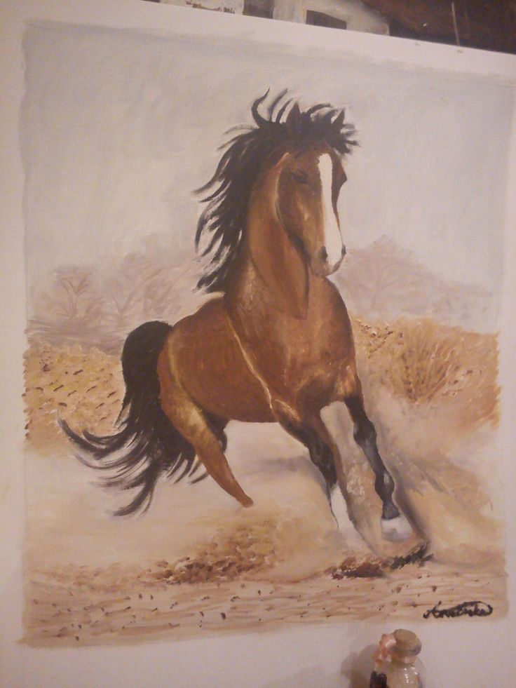 Lovas Horse painting