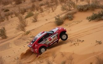 dakar, песок, машина, mitsubishi, rally, авто, спорт, ралли, гонка
