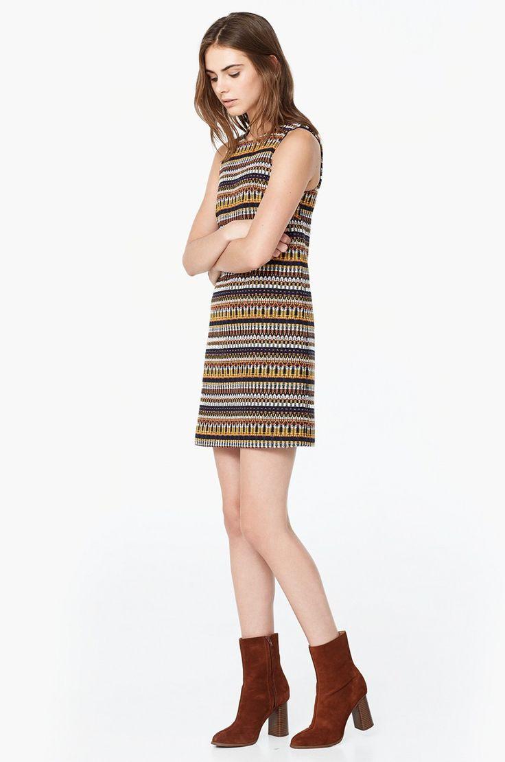 Sukienki i tuniki Casual (na co dzień)  - Mango - Sukienka Color / kup na ANSWEAR.com