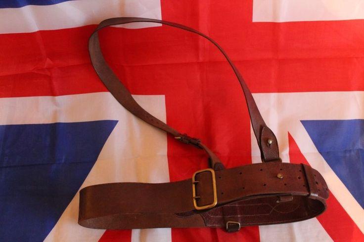 British Army Officer's Leather Sam Browne Belt   eBay