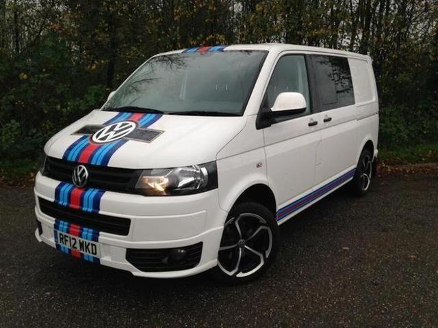 2012 VOLKSWAGEN TRANSPORTER 2.0TDi T30 Combi van in CULLOMPTON on Auto Trader Vans
