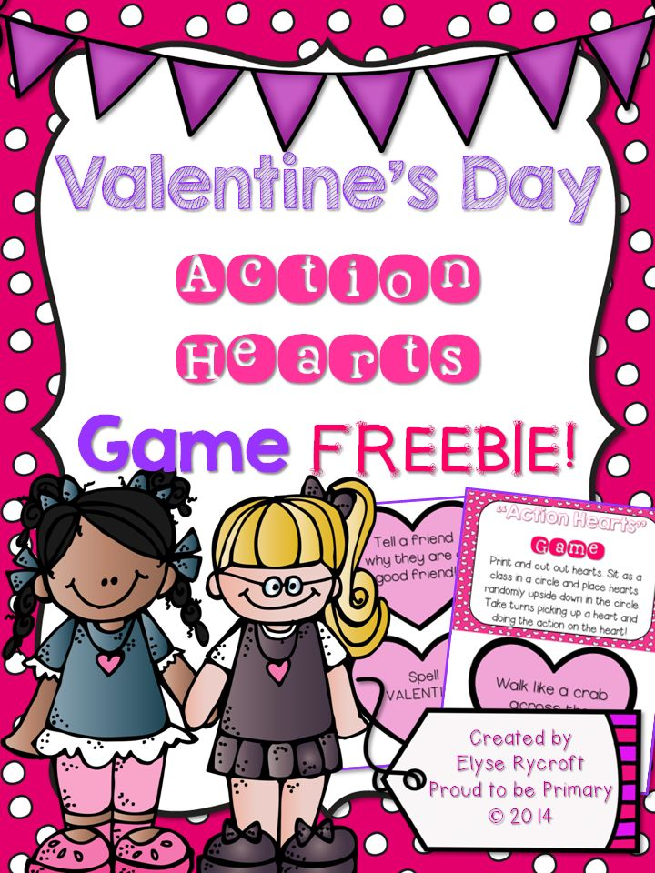valentine's day game worksheets