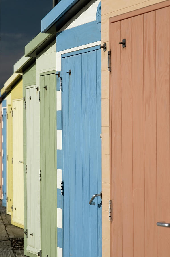 ✮ A Row of Beach Huts