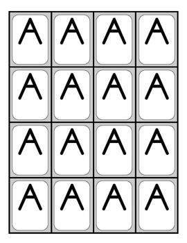 IF YOU ARE NEEDING LETTER TILES FOR EACH STUDENT IN YOUR CLASS SO THAT BUILDING WORDS CAN BE HANDS ON AND STUDENTS' MORE INVOLVED THEN, THIS IS WHAT YOU MIGHT NEED.AFTER A FRIEND OF MINE SHARED THAT HER PHONICS PROGRAM SUPPLIED INDIVIDUAL LETTER TILES FOR EACH STUDENT, I KNEW I WANTED TO TRY THAT IN MY CLASS.HERE YOU WILL FIND, BOTH CARDS FOR UPPER AND LOWER CASE LETTERS.AS IN ALL MY PRODUCTS, I COPY THEM ON CARDSTOCK AND LAMINATE FOR EXTENDED USE.THANKS FOR BROWSING :)...