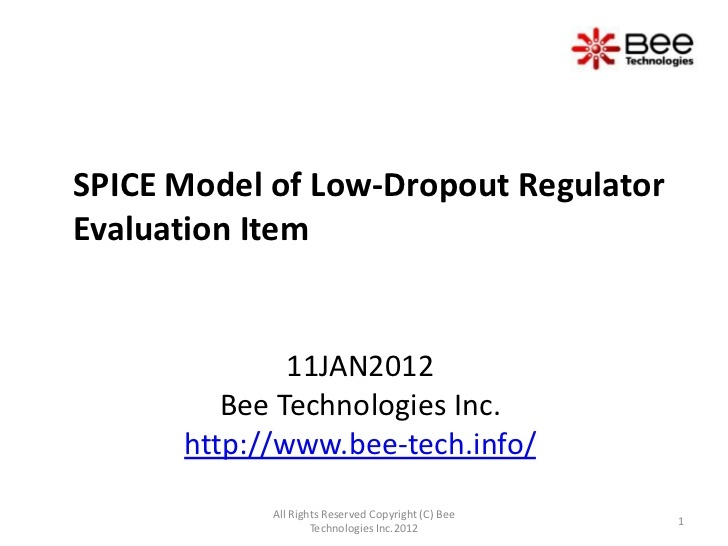low dropout regulator thesis