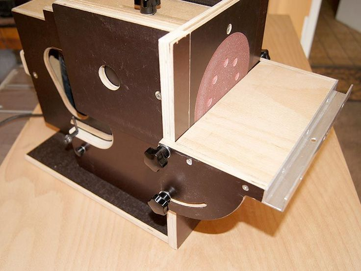 Kleines Tisch-Schleifgerät – Bauanleitung zum Sel…
