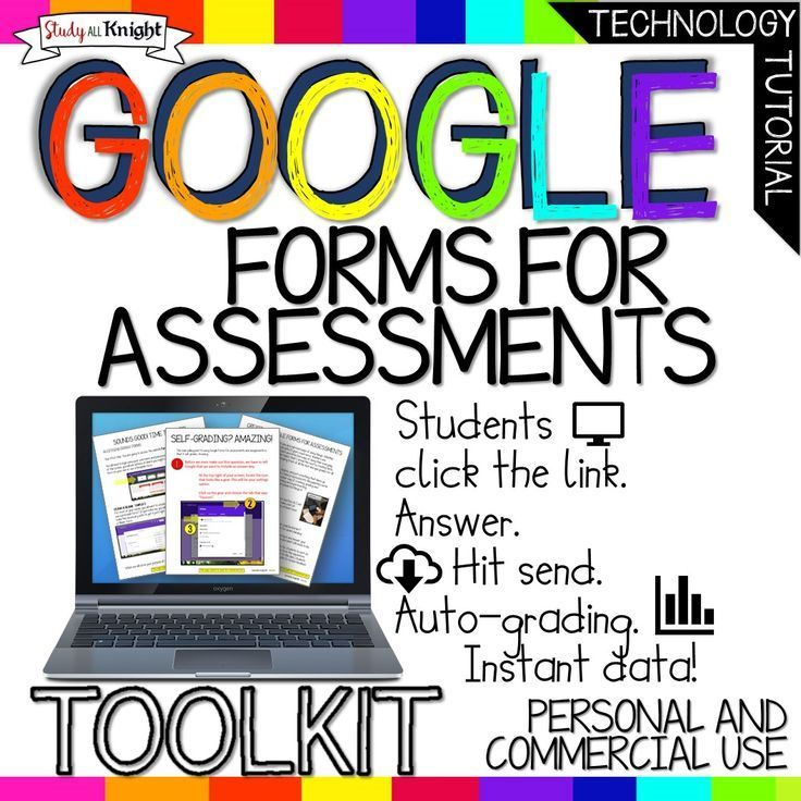 GOOGLE FORMS FOR ASSESSMENTS TOOLKIT, SELF-GRADING, INSTANT DATA, AND MORE! All grades. Commercial and Personal Use. Includes: Google Forms for Tests, Google Forms For Quizzes, Instant Data, How to use for Bell Ringers, Writing Prompts. •Why Use Google Forms for Assessments? • Instant Data • Step-by-Step visual tutorial • Creating the Google Form • Creating the Assessment • Self Grading (Auto Grade) • Sharing it with teachers •Sharing it with students • Pictures of before and after