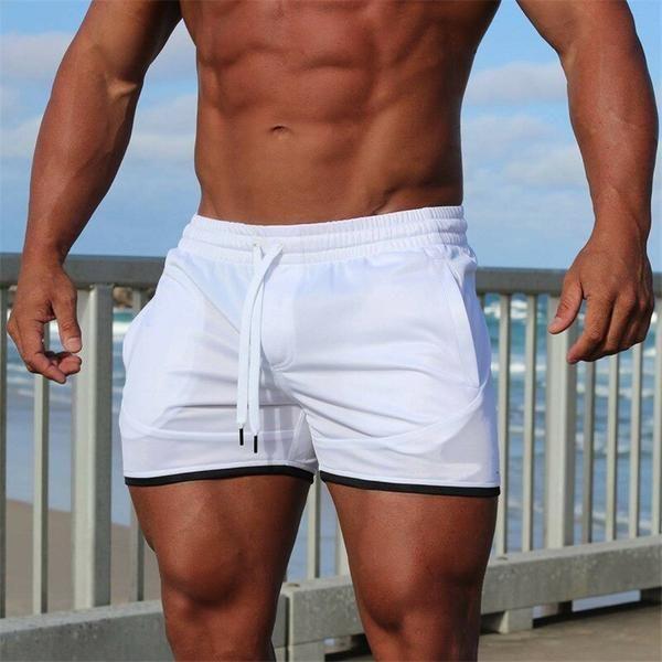 Men Gyms Fitness Bodybuilding Shorts Mens Summer Casual Cool Short Pants Male Jogger Workout Beach Brand Breechcloth Bodybuilding Shorts Mens Beach Shorts Sport Shorts Men