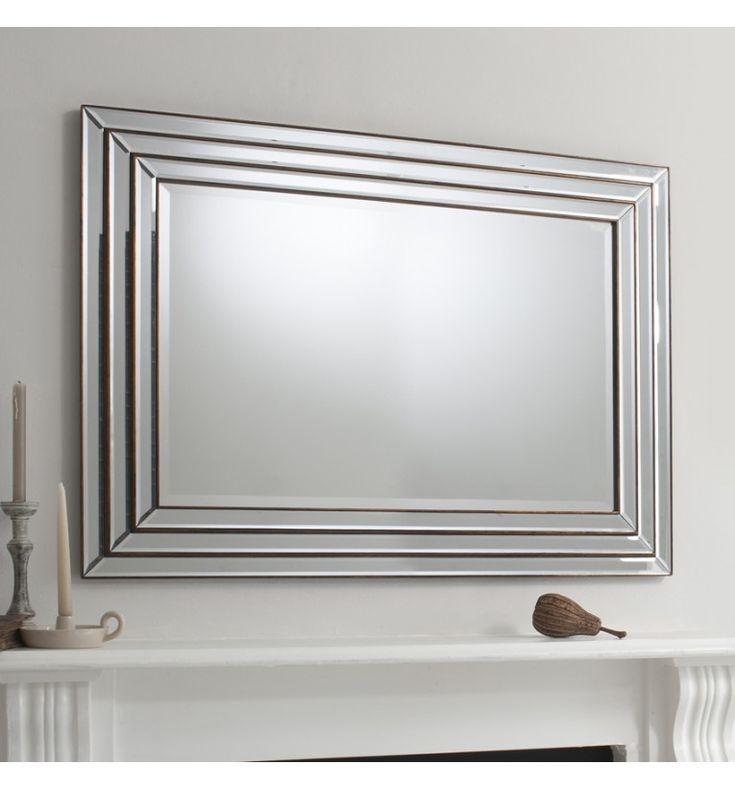 mantel bevelled mirror - Google Search