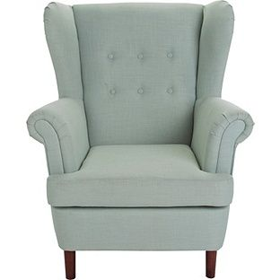 Buy Martha Fabric Wingback Chair - Duck Egg at Argos.co.uk, visit Argos.co.uk to shop online for Armchairs and chairs