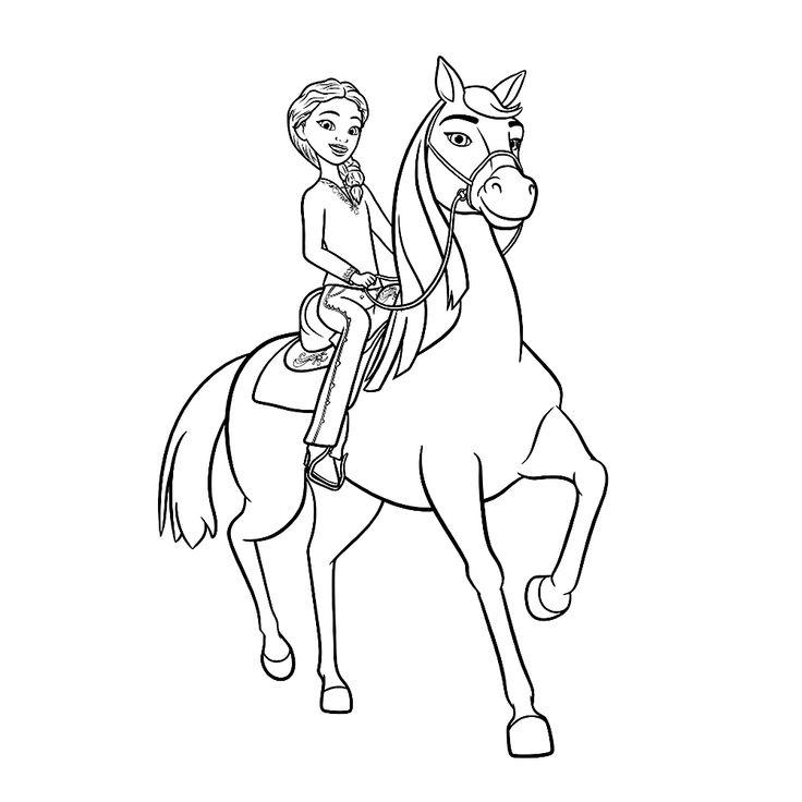 leuk voor pru met haar paard chica