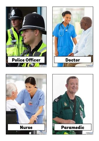 Download a free collection of posters featuring high quality images of the different types of people who help us.