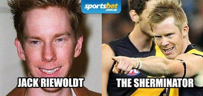 Look Alikes - And this was your favourite AFL lookalike of the season - Sportsbet.com.au