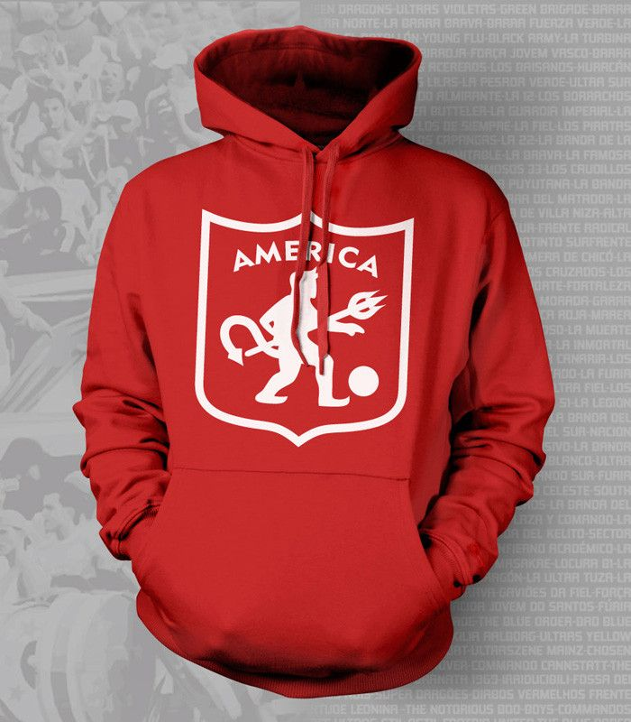 America de Cali Colombia Hoody Sweatshirt