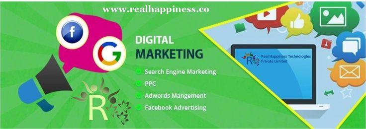 Digital Marketing in Dehradun Digital Marketing is the promotion of any product or brand using digital technologies.  http://realhappiness.co/e-marketing-in-dehradun-uttarakhand.html