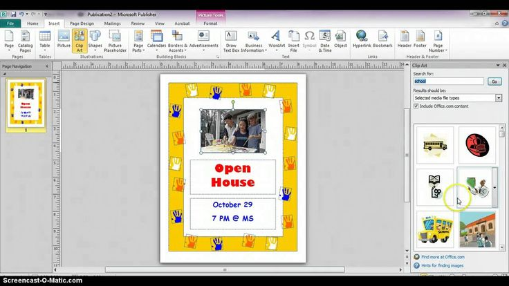 how to create a business logo in microsoft publisher 2010
