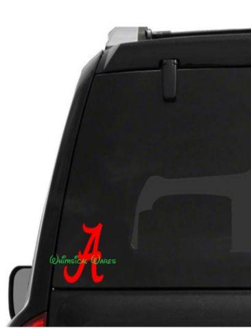 Alabama a roll tide car decal high quality outdoor vinyl 1