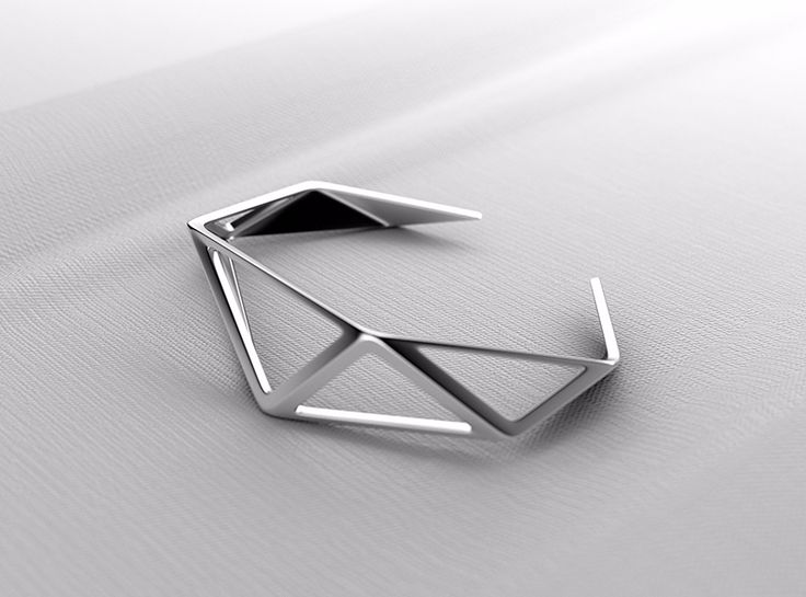Geometry Bracelet - a 3D model by VECTARY | VECTARY