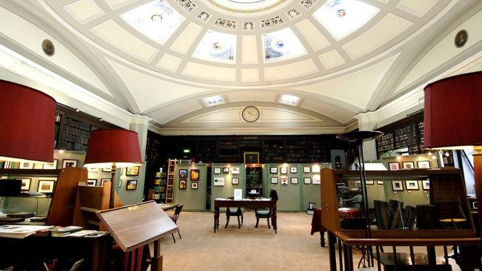 The Portico Library and Gallery - opened in 1806 as a Library and Newsroom and continues to be an active centre of culture for the people of Manchester and beyond.