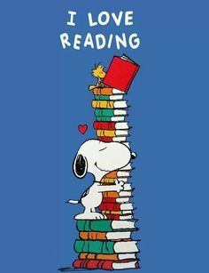 There's nothing like hugging a book tower!