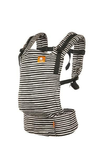 Black and white stripes gender neutral baby carrier! Imagine - Tula Free-to-Grow Baby Carrier