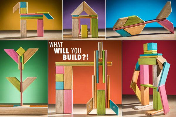 """TEGU: Ökologische & magnetische Bausteine für Kinder (und Erwachsene) Wir haben uns kürzlich das TEGU Pocket Set gekauft.  Schon lange haben wir mit der Idee gespielt magnetische Bausteine zu kaufen, wollten aber zuerst, dass unsere kleine Maus mit den """"normalen"""" Holzbau-Steinen klar kommt.  Egal ob Tiere, Roboter, Häuser oder Menschen. Mit den Sets von TEGU, die allesamt miteinander Kompatibel sind, ist so ein Spielspass für die ganze Familie garantiert."""
