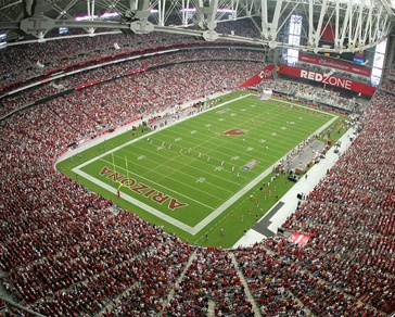 University of Phoenix Stadium, Phoenix, AZ.