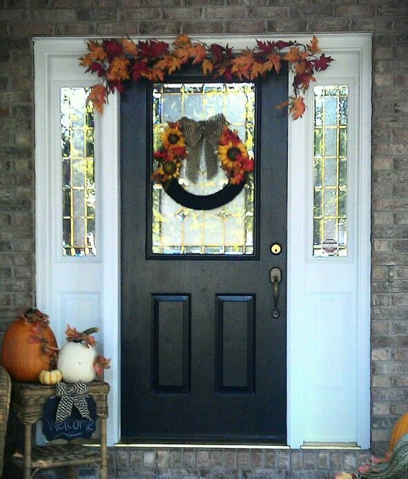 8 Best Front Door Ideas Images On Pinterest Black Front