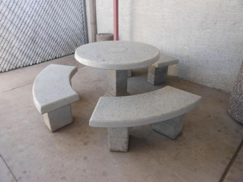 Concrete Patio Tables New Used Office Furniture