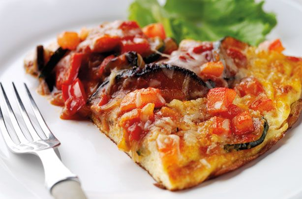 Annabel Karmel's ratatouille omelette