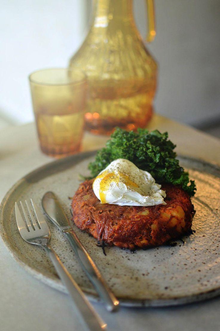 Corned beef hash at Flour Drum, Newtown - from heneedsfood blog