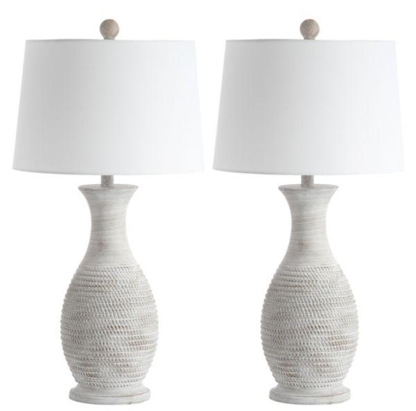 Gray Jug Base Table Lamps Set Of 2 From Kirkland S Table Lamp Sets Grey Table Lamps Lamp Sets