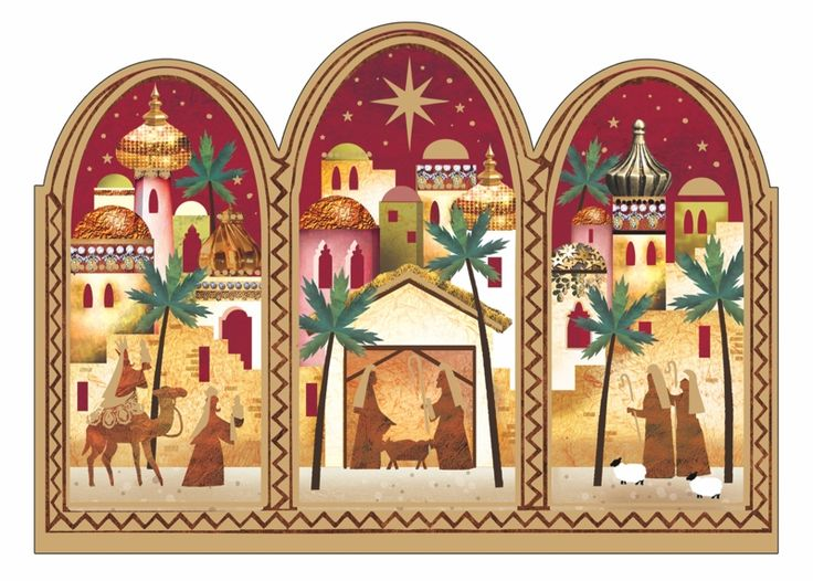 Christmas Windows Tearfund Charity Christmas Cards