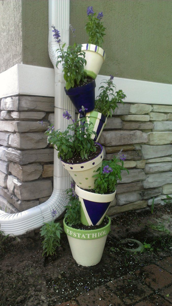 45 Cool Tipsy Pot Planters 39 best