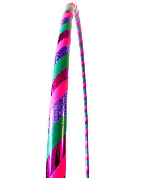 Lilac Kisses Adult Beginner Dance Hula Hoops 95cm