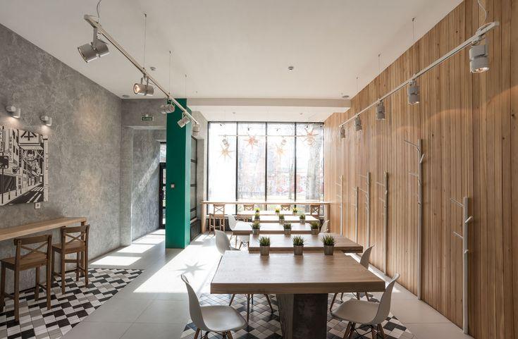 WOK Кафе KYOTO - Лучший интерьер ресторана, кафе или бара | PINWIN - конкурсы…