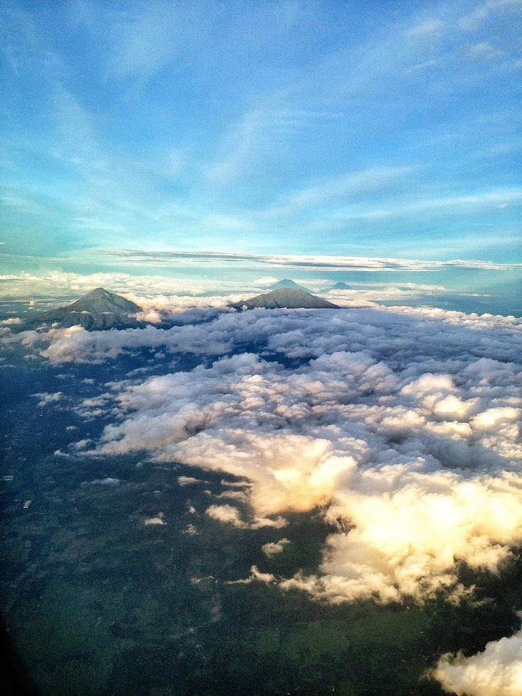Yogyakarta from the air