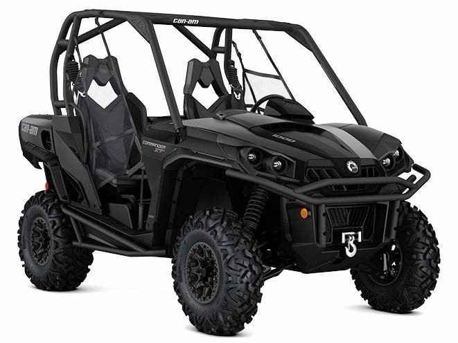 New 2017 Can-Am Commander XT-P 1000 ATVs For Sale in New Jersey. Commander XT-PINDUSTRY LEADING REC-UTILITY SIDE-BY-SIDEEngineered to withstand the extremes of the trail, this machine is rugged and ready for work or play. With beadlock wheels and rock sliders, it's ready for even the roughest terrain.Features85-HP ROTAX 1000 V-TWIN ENGINE: Liquid-cooled, 8-valve Rotax 976 cc V-twin pumps out a class-leading 85 horsepower, yet is refined thanks to EFI and iTC. The liquid-cooled, single…
