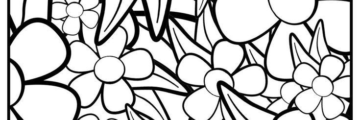 bloemen kleurplaat bloem kleurplaten kleurplaten en