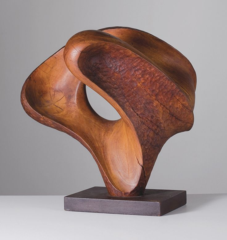 Mario Dal Fabbro, Continuity, carved wood, 1972 | sculpture