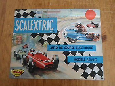 Catalogue de jouets - Scalectric -  TRI-ANG  - auto de course electrique - 1963