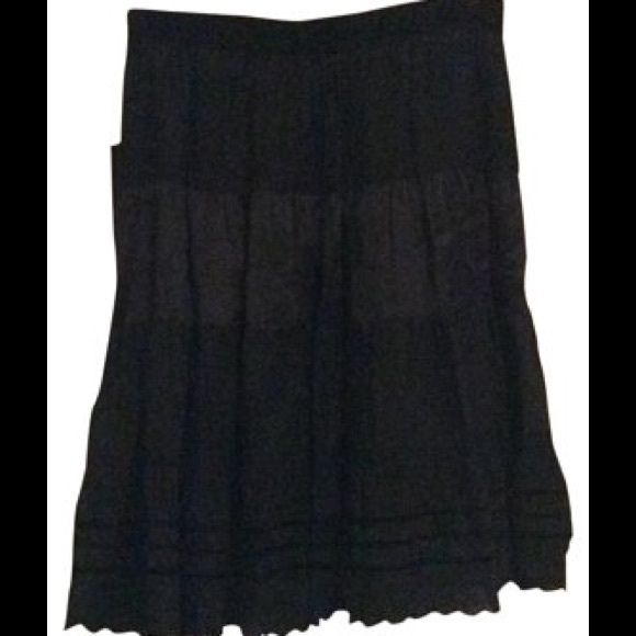 La Rok skirt La Rok ruffle and eyelet detail skirt. Lined. Contrasting layers. Skirts A-Line or Full