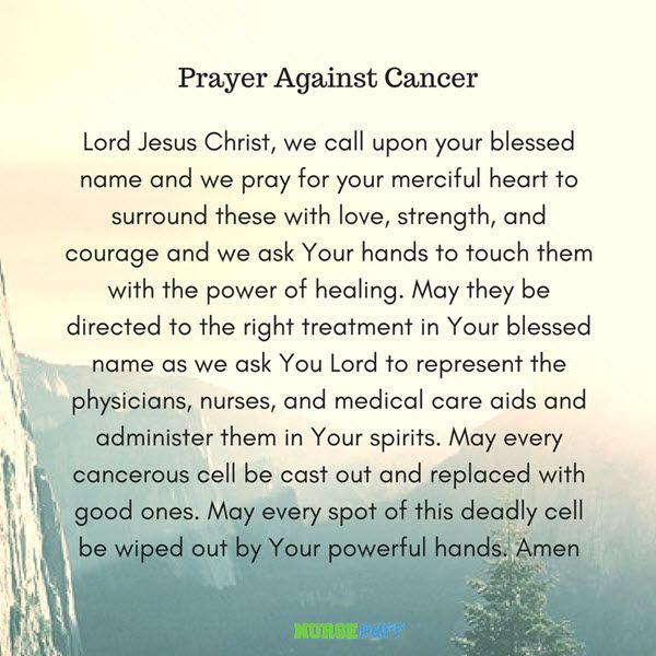 9 Powerful Healing Prayers for Cancer Patients #nursebuff #cancerpreayers #healingprayers
