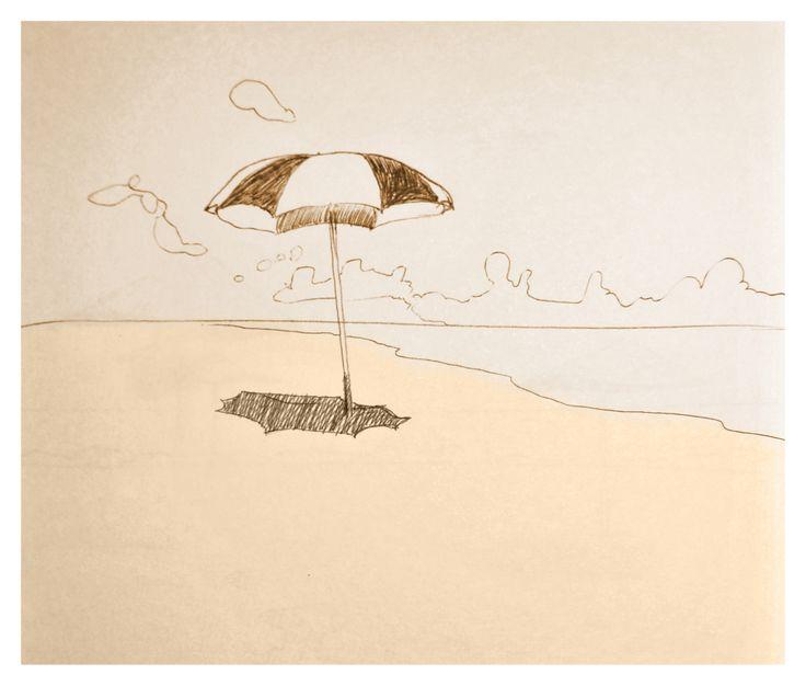 Une image d'une série de croquis sur le thème marin
